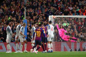 3 lần từ chối bàn thắng của Lionel Messi tại mùa giải La Liga