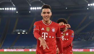 Cầu thủ Jamal Musiala kỷ lục gia trẻ tuổi của Bayern Munich
