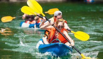 Chèo thuyền kayak: Môn thể thao nước vô cùng độc đáo và thú vị