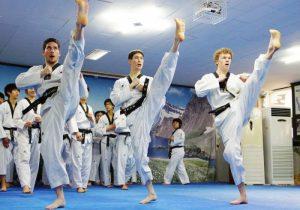 võ thuật teakwondo