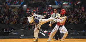 Quyền pháp (đòn tay) trong thi đấu Taekwondo