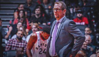HLV Nick Nurse kí tiếp hợp đồng với Toronto Raptors, với mức lương cao top đầu NBA