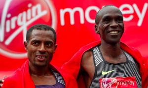 Sự lật đổ Kipchoge dành cho Bekele tại London Marathon 2020