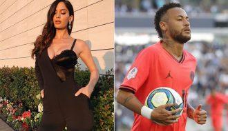 Tiền đạo của PSG - Neymar đã tán tỉnh người mẫu 23 tuổiChiara Nasti