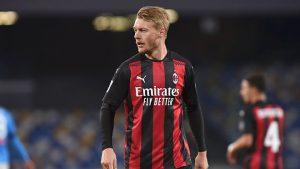 Trung vệ Simon Kjaer trụ cột quan trọng của AC Milan